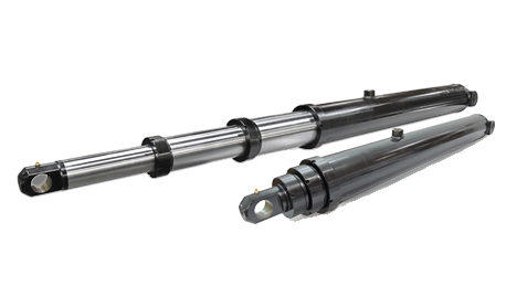 Metaris Brand Single Acting Telescopic Cylinders