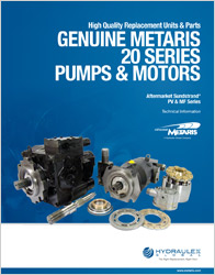 Click to view our PV & MF Series Technical Catalog