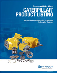 Click to view our Caterpillar Product Listing