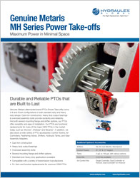 Click to view our Metaris Power Take-offs (PTOs) Cut Sheet