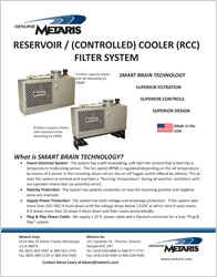 Click to view our RCC Reservoir Cooler Filter System Cut Sheet