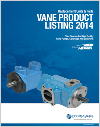 Click to view our Vane Product Listing