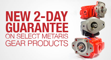 Metaris' New 2-Day Guarantee on Select Gear Pumps